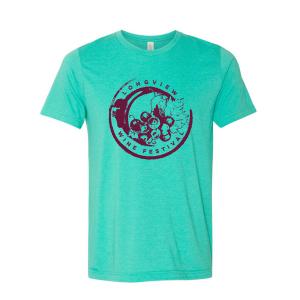 Longview Wine Festival T-Shirt Front