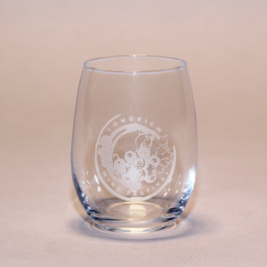 Longview Wine Festival Wine Glass